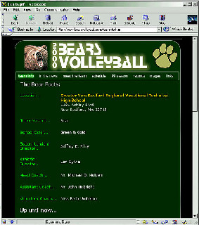 Bears Volleyball