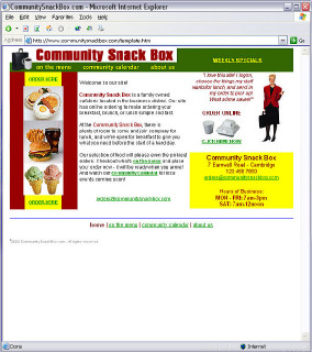 CommunitySnackBox.com