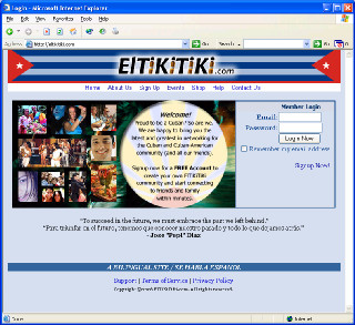 ElTikiTiki.com  Cuban Community based website.