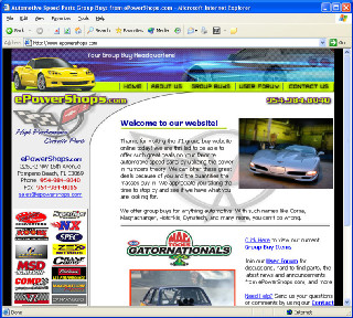ePowerShops.com  High Performance Automotive Parts and Accessories retailer in South Florida.