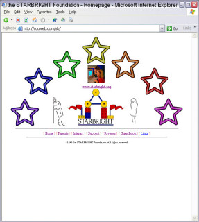 Starlight Foundation  4th place national web design contest winner!