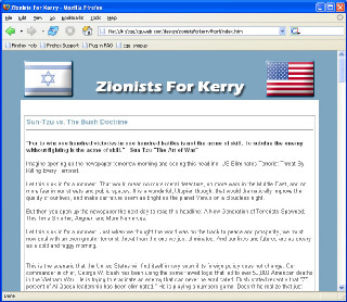 Zionists for Kerry